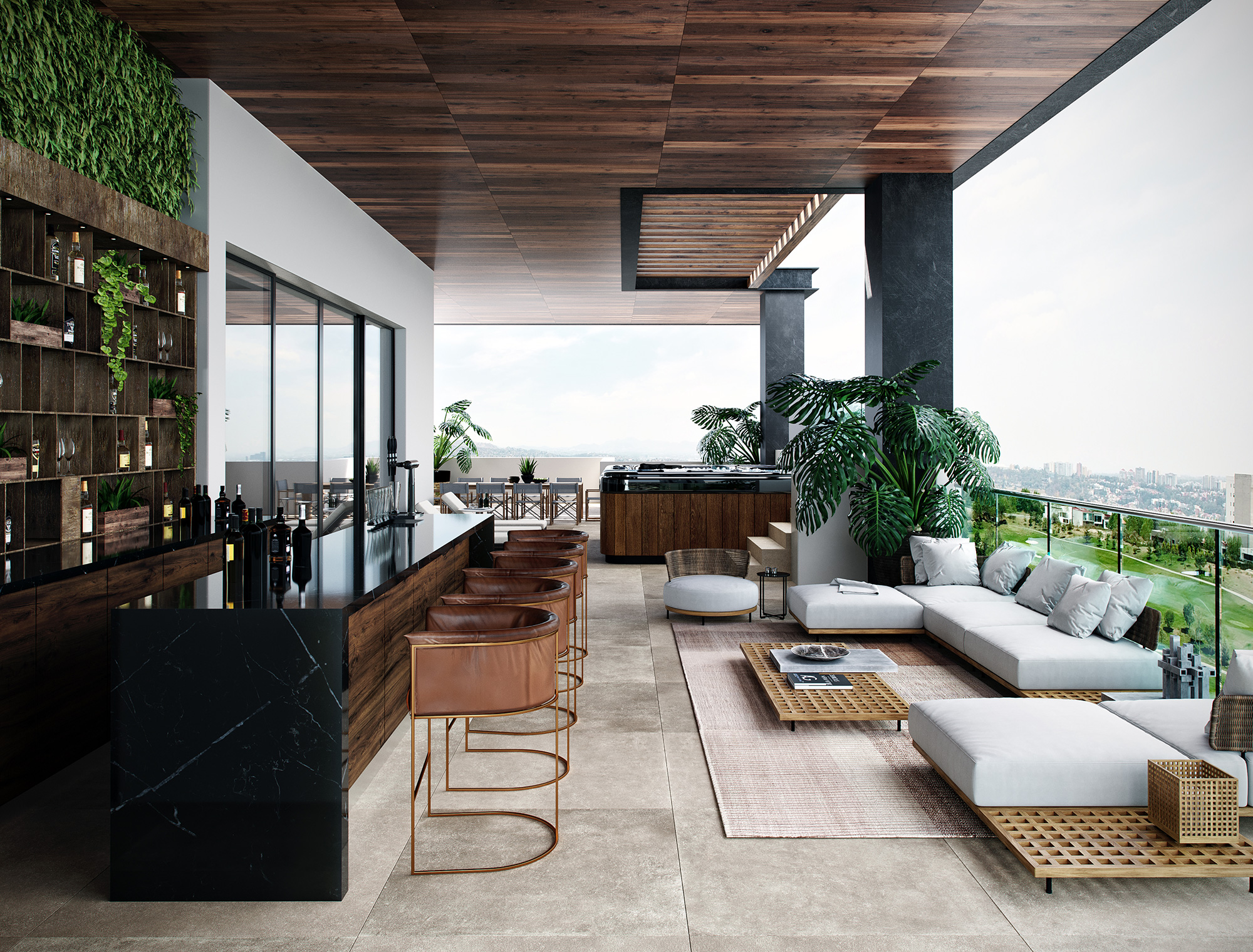 ROMA BOSQUE REAL - ROOF PENTHOUSE B